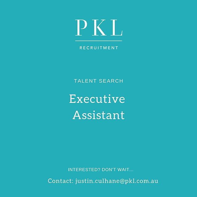 Calling EA's! We are currently recruiting for multiple Executive Assistant roles in Melbourne's CBD💡 Swipe for details 👉🏻 Contact: justin.culhane@pkl.com.au #pklrecruitment #pklpositions