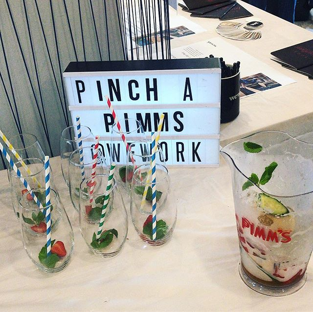 We've got that Friday Feeling in our Melbourne office! Happy weekend everyone 💚 #summervibes #pimmsoclock #friyay #lovelyspread #pklrecruitment
