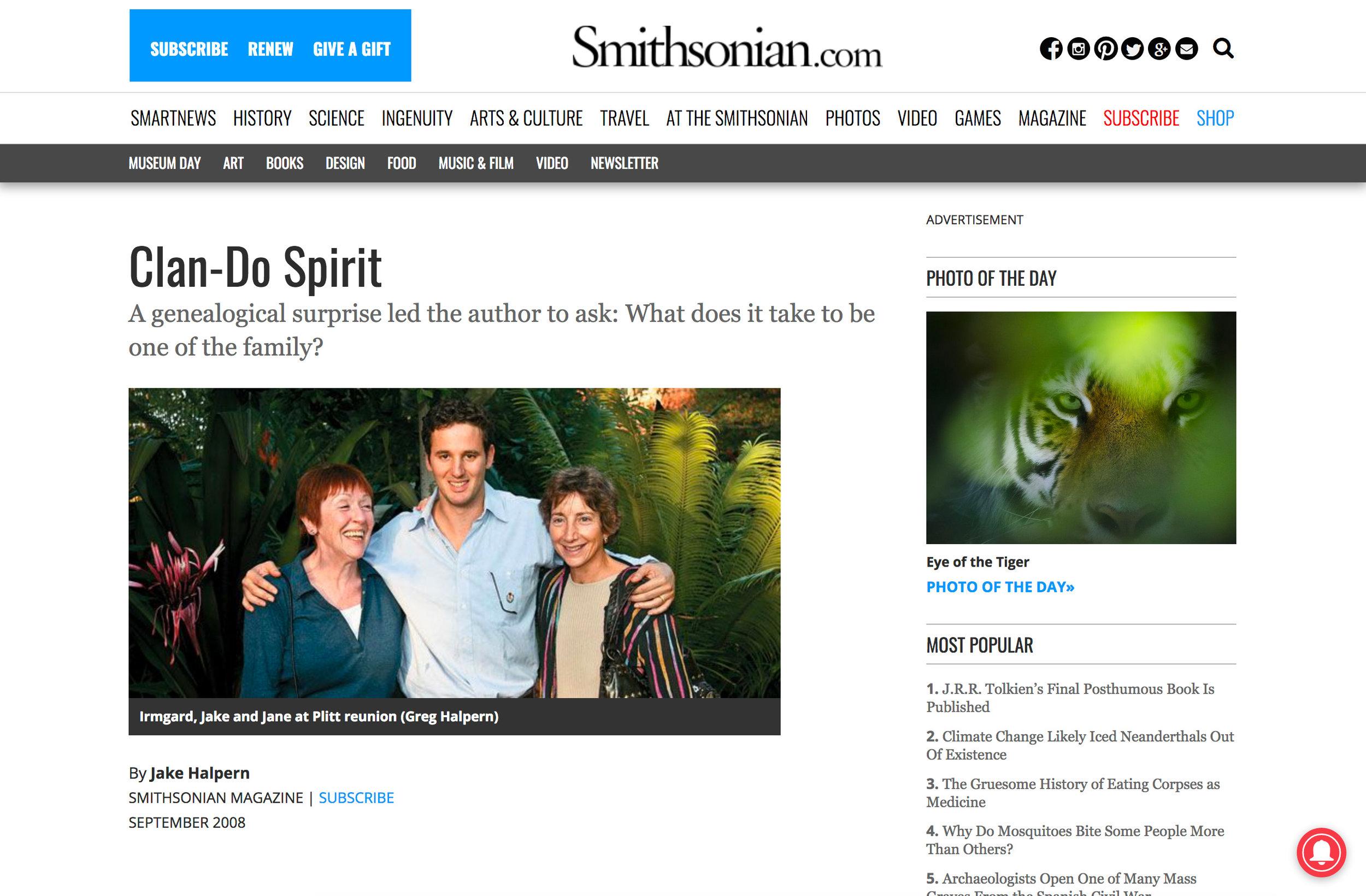 Family Feud on Smithsonian Magazine