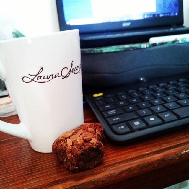 I'm terrible at feeding myself properly. It is a universal mom thing, I think. We focus so much on making sure the little ones are full and healthy and happy that by time we have a second to handle our own hunger, we just grab whatever is left over or prepackaged because we have shit to do! This medicated morning brownie and coffee are the most effective incentive I've found to just sit down and take a minute or three for me.  #highmom #highmompodcast #stonermom #momswhosmoke #momswhotoke #edibles #medicatedmorning