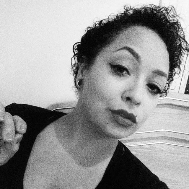 Sometimes I cut off all my hair and start again. #highmom #highmompodcast #twa #bigchop