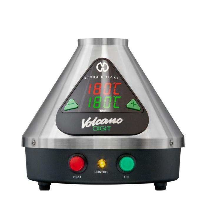 The Volcano Digital $799.95 - The original desktop vape with easy to use, digital controls. This is, as the price would suggest, the absolute best desktop vaporizer that money can buy. For years prior to recreational legalization, this was the only device Health Canada had approved for medical cannabis use, and one session with this machine will have you understanding why. Smooth, thick vapor is produced using a patented technology of vaporizing process, allowing every hit to truly hit the right spot. Use with either the whip or bag attachment and prepare to have any doubts about vaping go up in smoke.