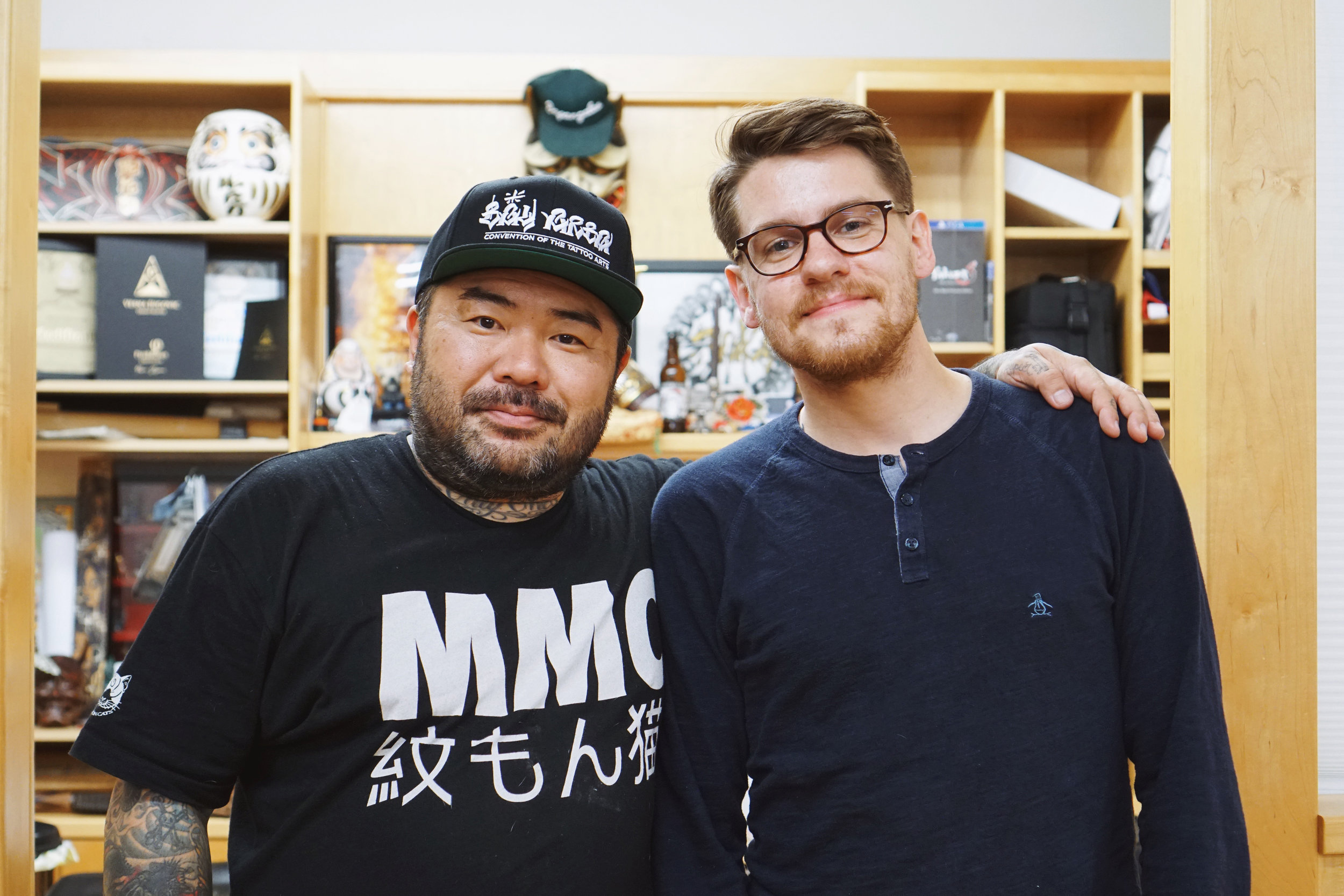 EP 005 - Tattoo artist Taki Kitamura (@stateofgracetaki) discusses how he organizes a tattoo convention that features the highest caliber of work, being surrounded by inspiration at State of Grace, and how he looks toward the future of tattooing while still increasingly embracing traditions of the past.SPONSORS:Lucky SupplyRiver Valley Printing Co