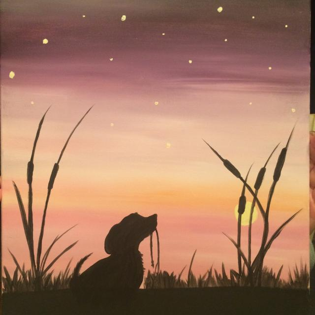Paint Party Paintings -
