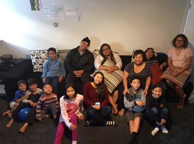 "Avondale, Auckland - ""On the Monday before the Twin Holy Birthdays, we invited some of our neighbours to join us for a potluck dinner and devotions to celebrate."""