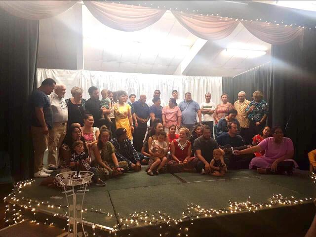 A fundraiser held in Manurewa a month before pilgrimage.