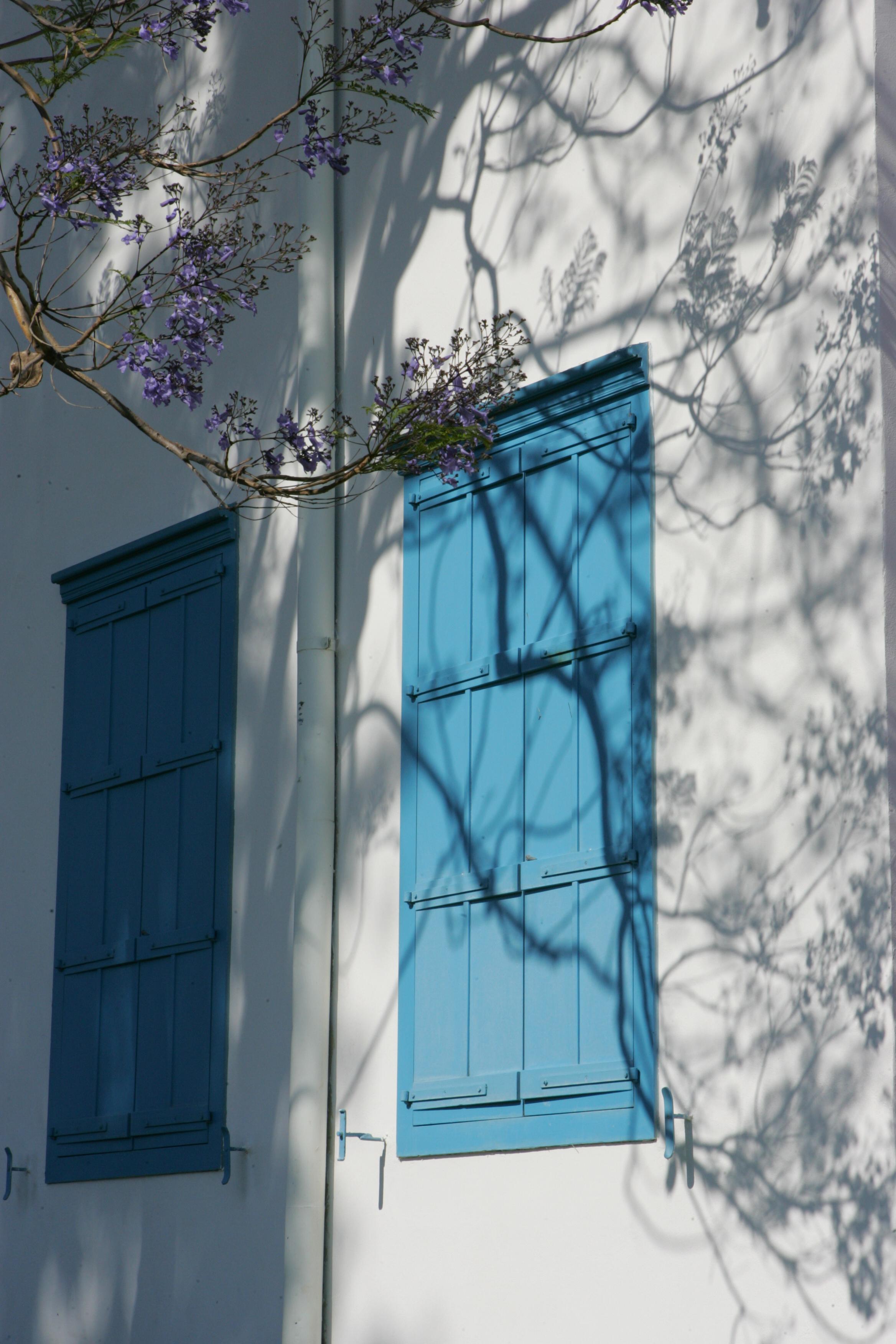 Windows on the Bahjí Pilgrim House