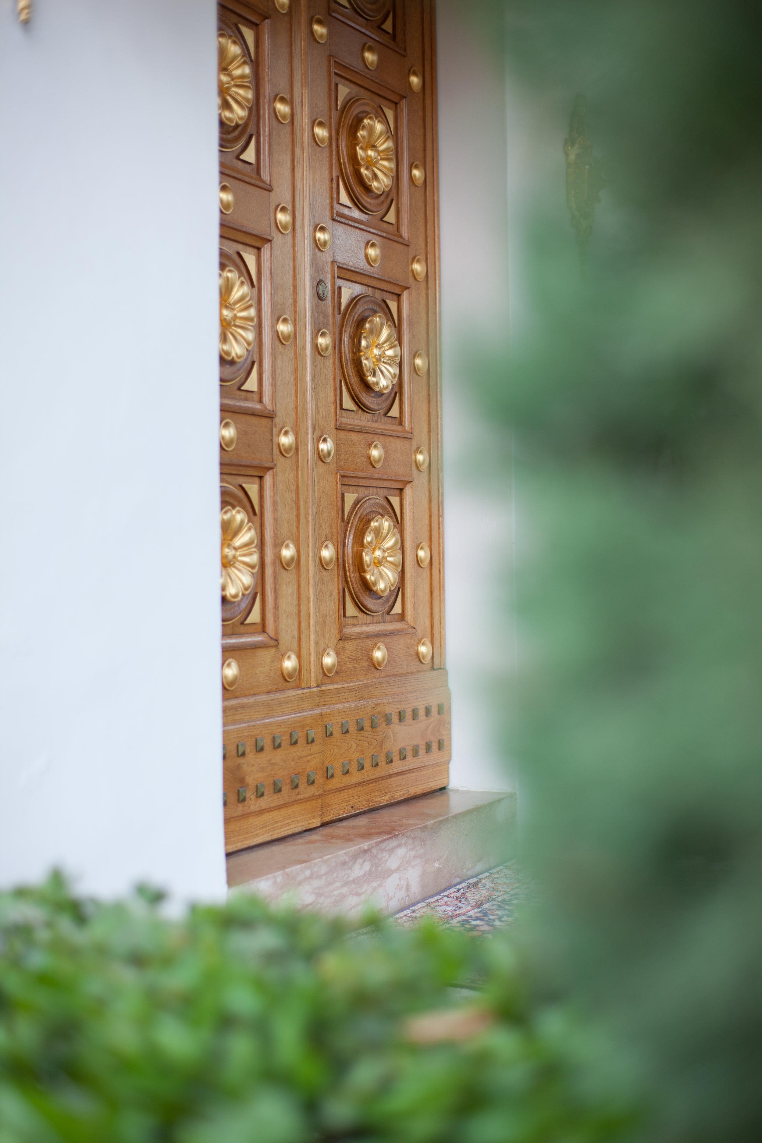 Door of the Shrine of Bahá'u'lláh