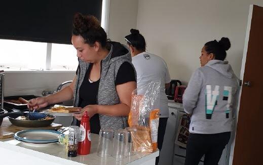Flaxmere in kitchen.JPG