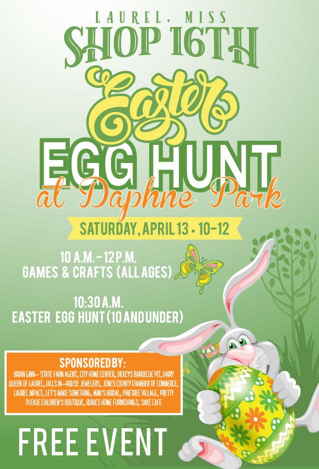 Shop 16th Easter Egg Hunt