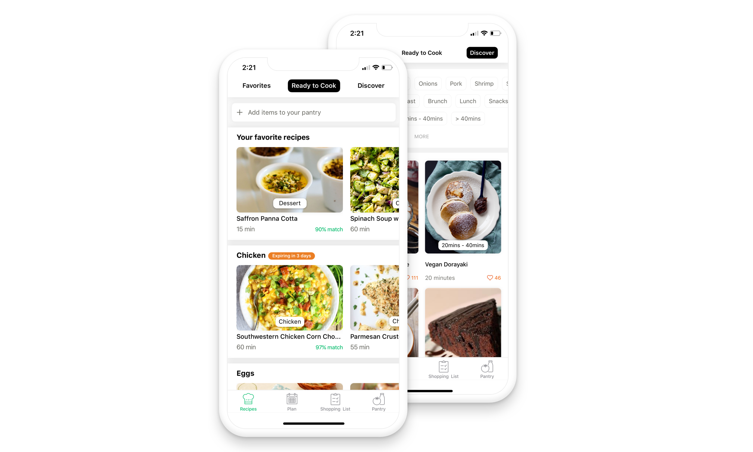 Ready to cook recipes at your fingertips - Get personalized recipe suggestions based on ingredients available in your pantry and dietary prefer.