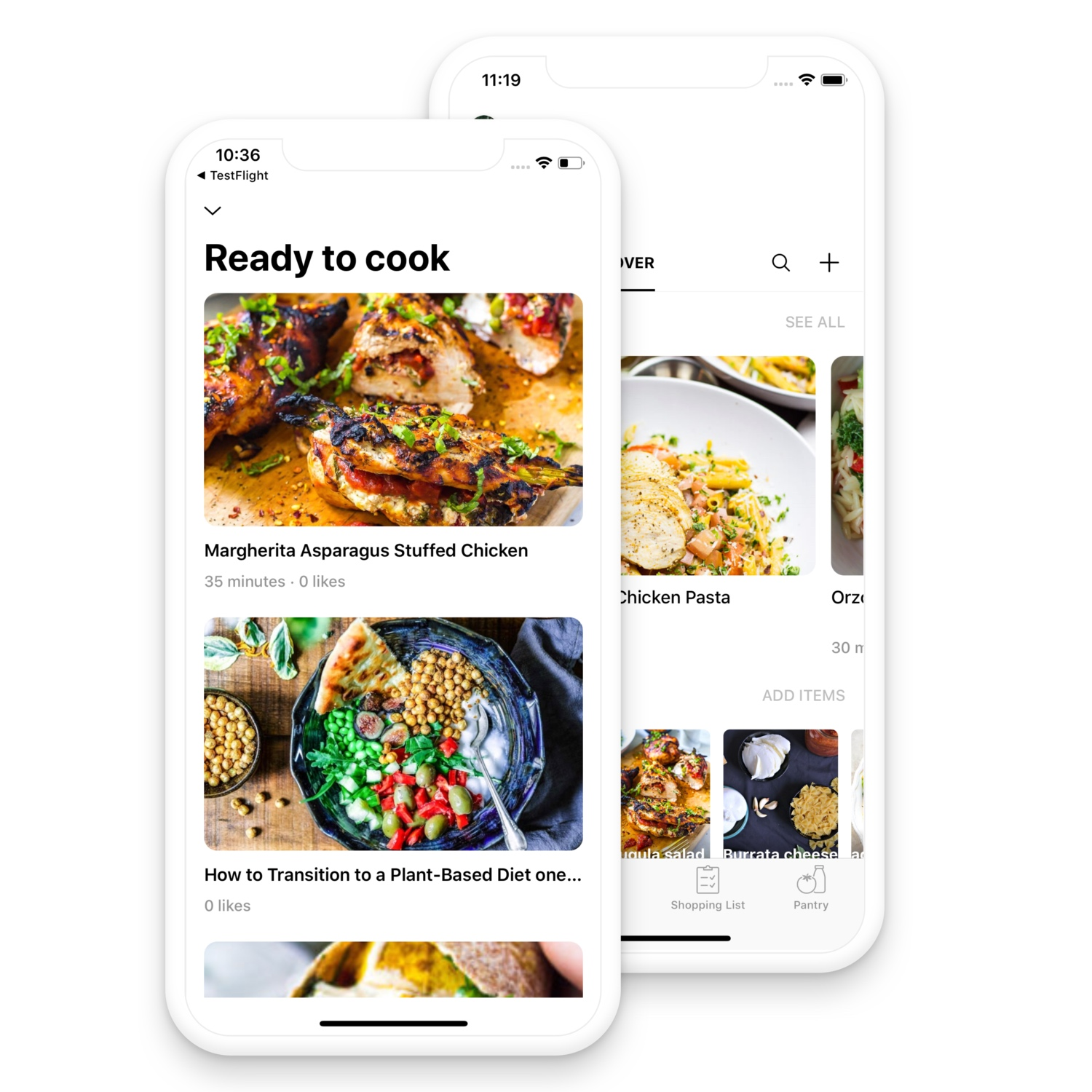 "Recipes that are ""ready to cook"" - Chefling helps you decide 'what to cook now'. Get personalized recipe suggestions based on ingredients available in your pantry and dietary preferences."