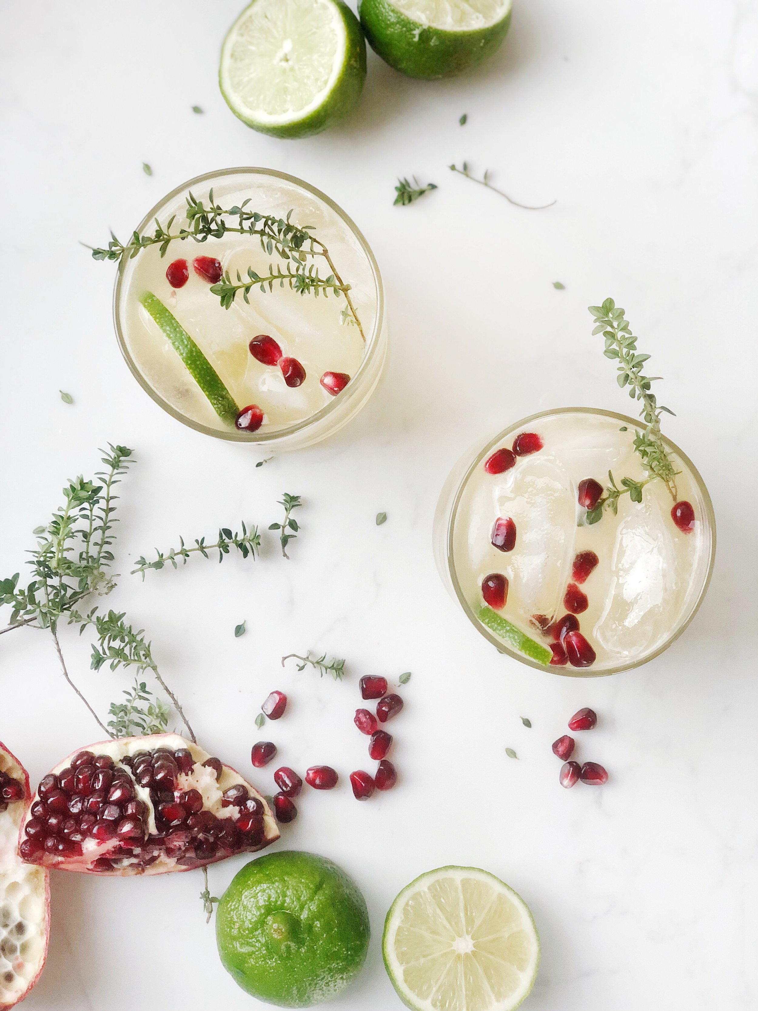 winter cocktail lime pomegranate thyme.JPG