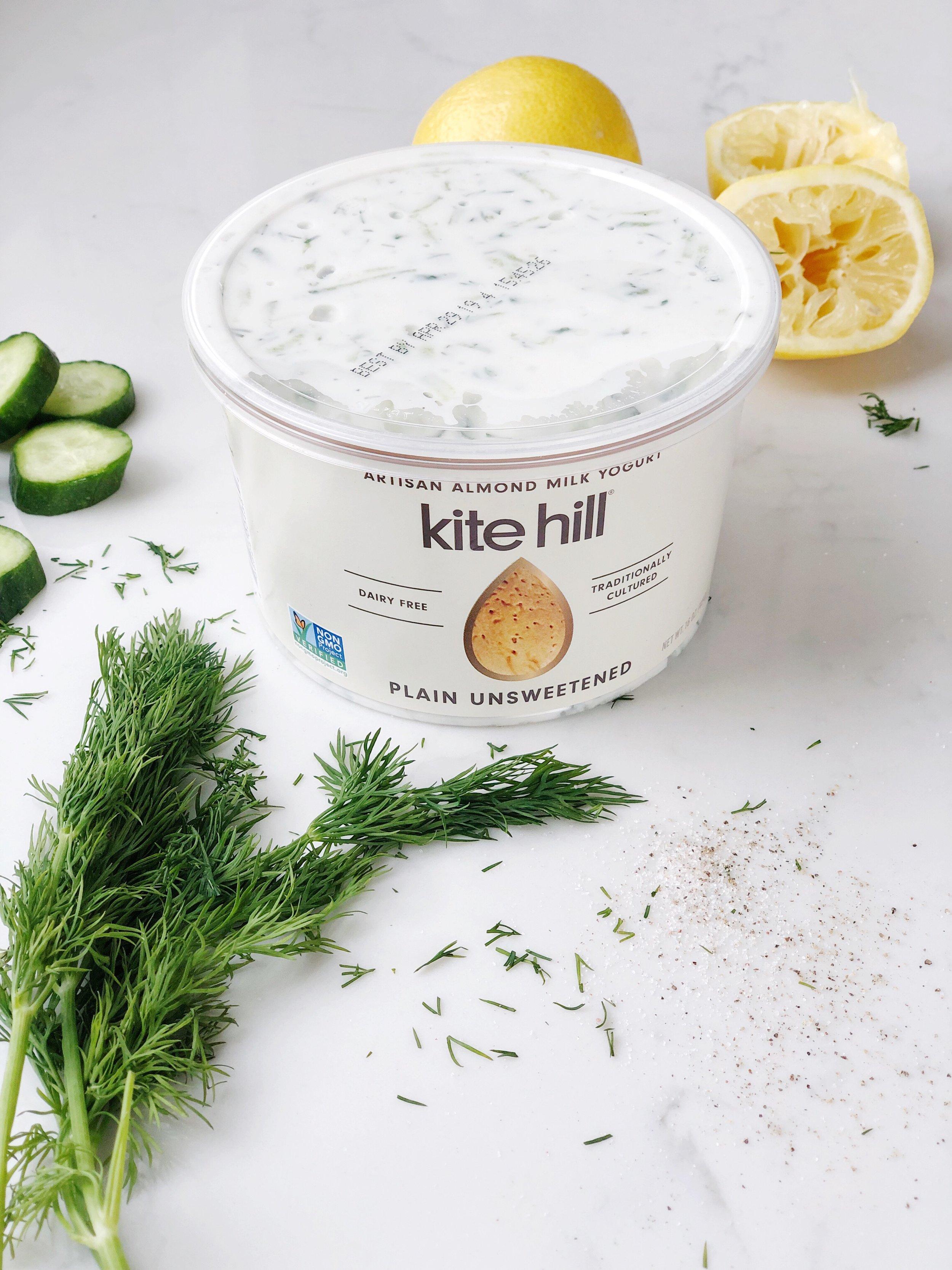 kite hill yogurt recipe paleo tzatziki.JPG