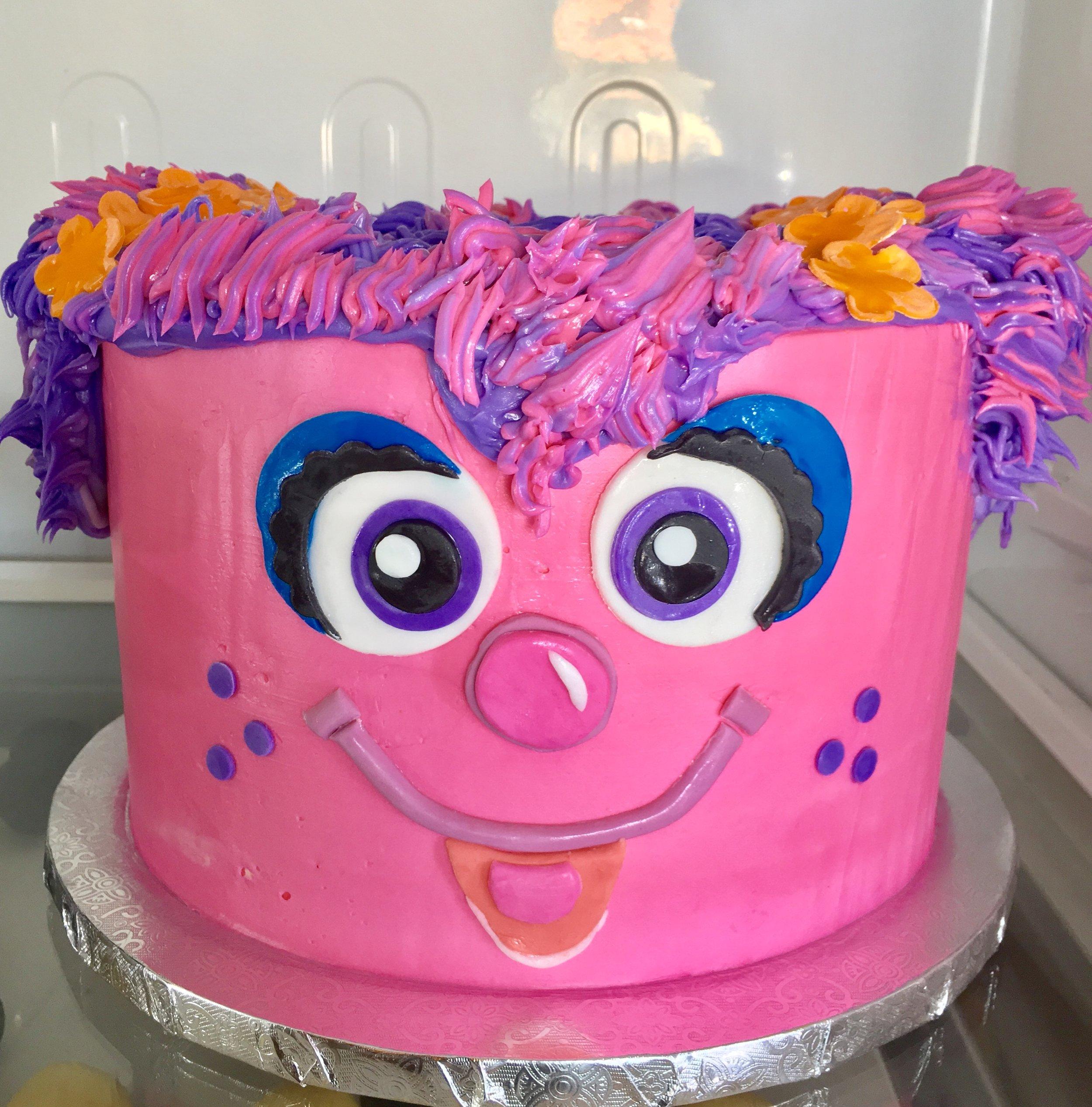 Sesame Street Mwokaji Cakery