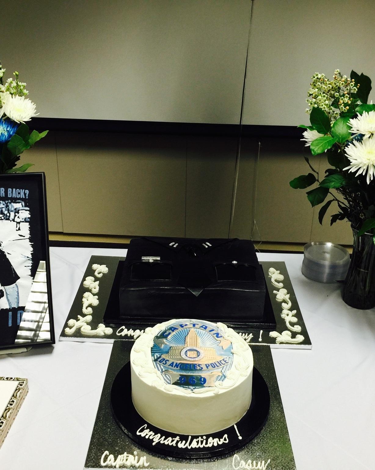 LAPD Promotion Cake - LAPD Uniform Cake - Mwokaji CAkery .JPG