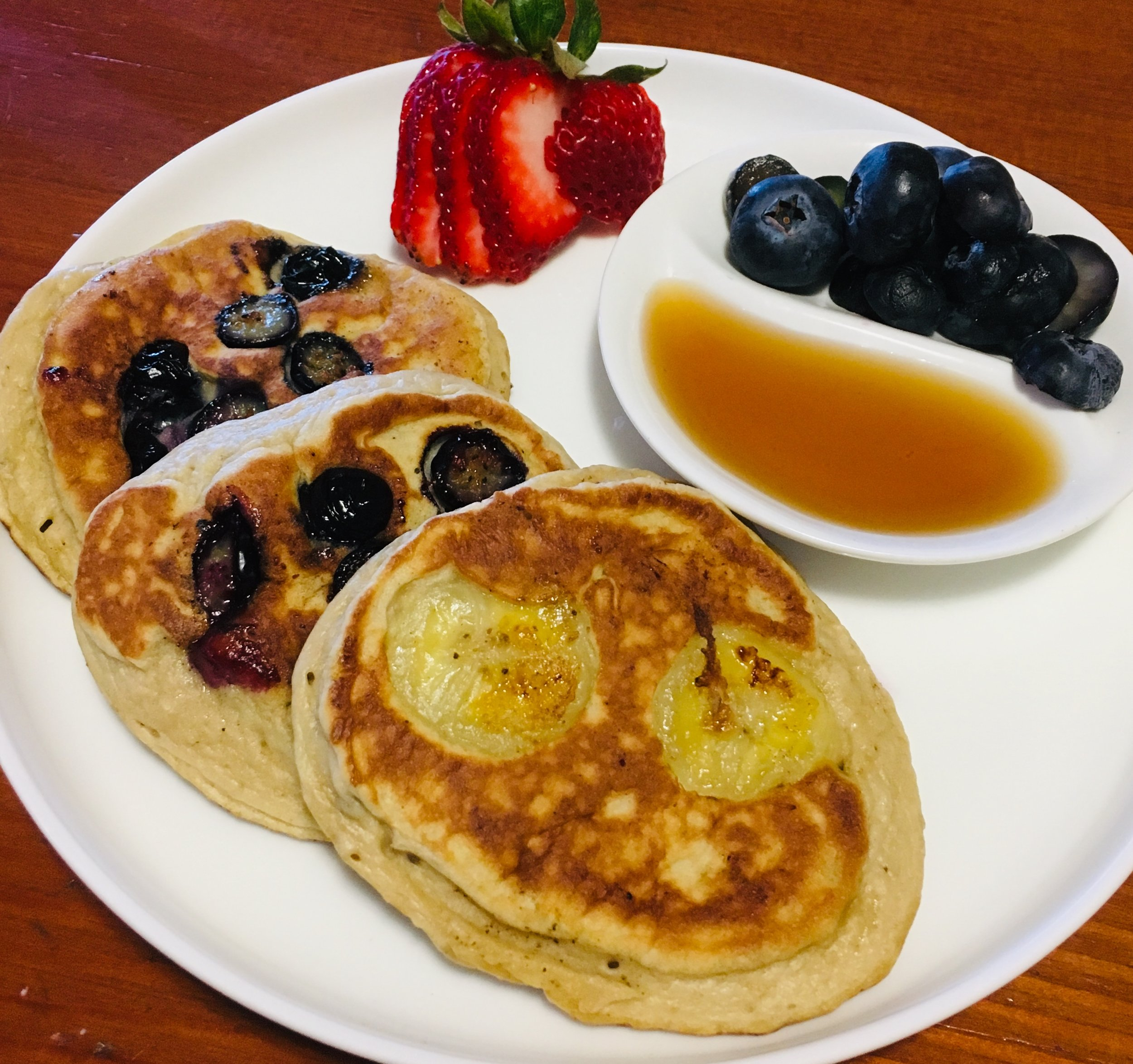 Pancake Friday Refined Sugar free