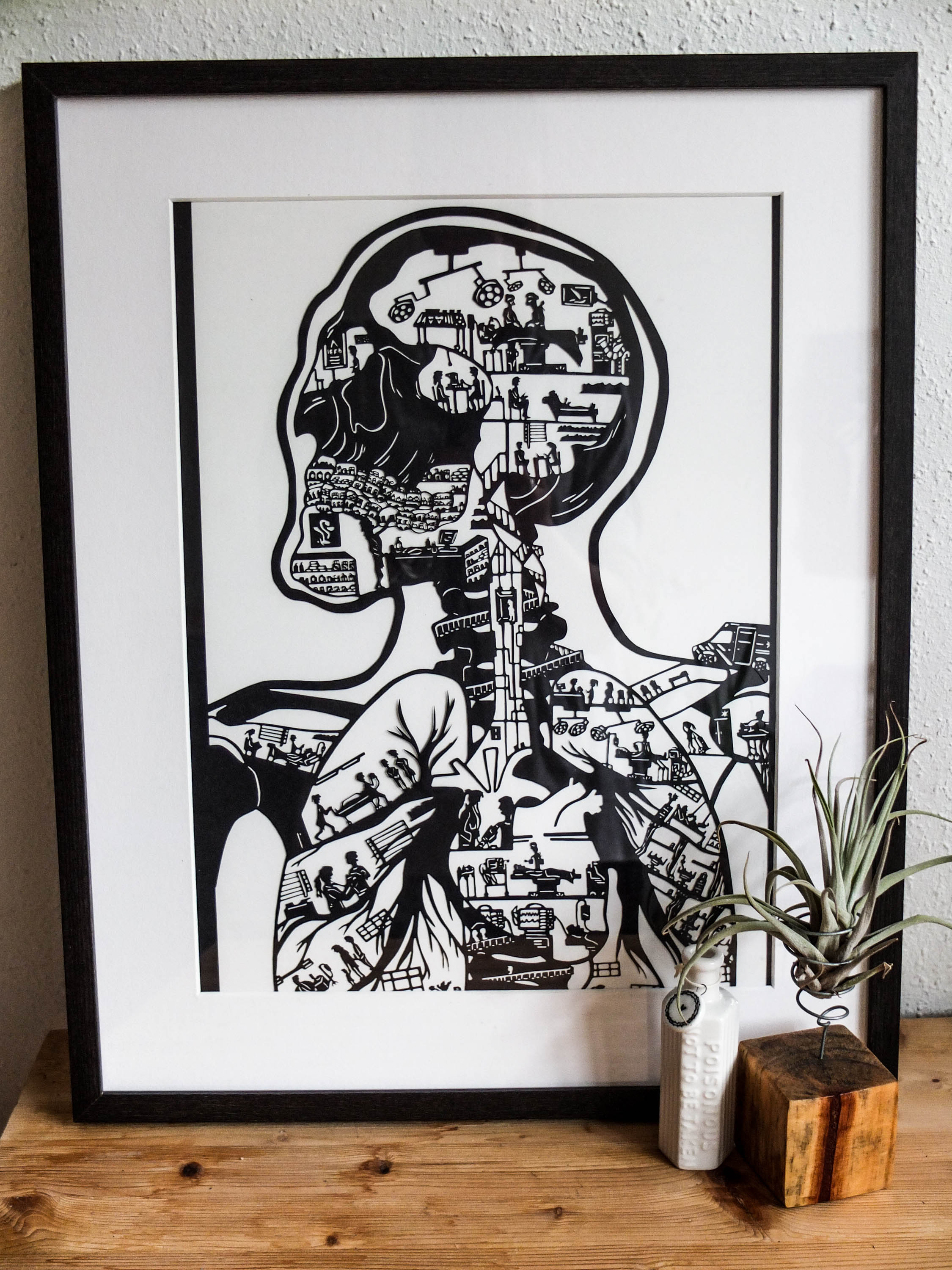 Anatomical Architecture Print