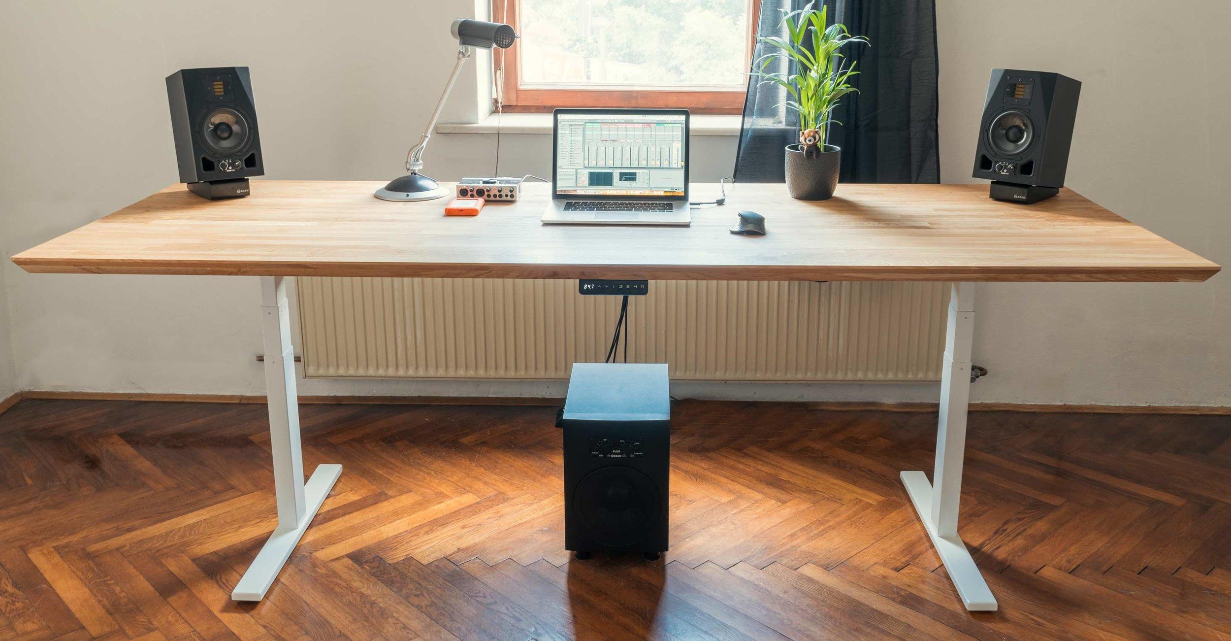 Dvizna miza Ergochord workstation