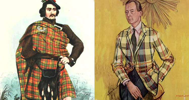 TARTAN: Codified, exported and imitated.