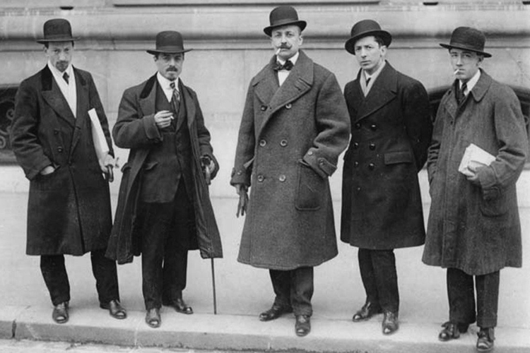 SHOCK OF THE NEW: The Futurists, 1909, looking distinctly traditional.