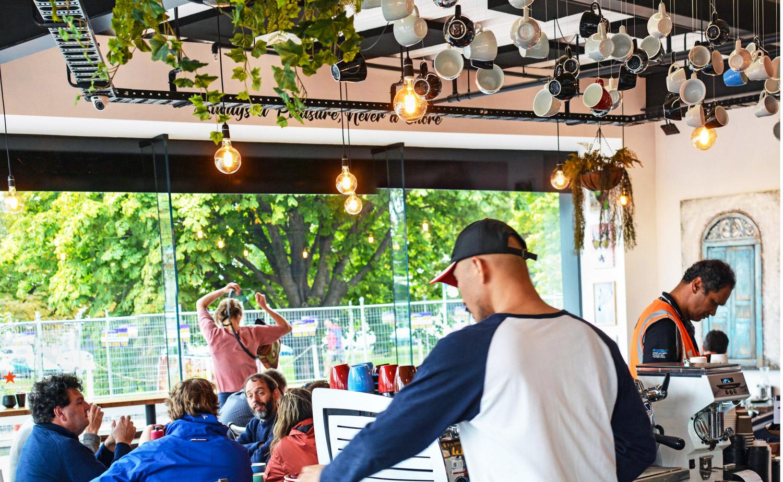 B&W Cafe | Christchurch