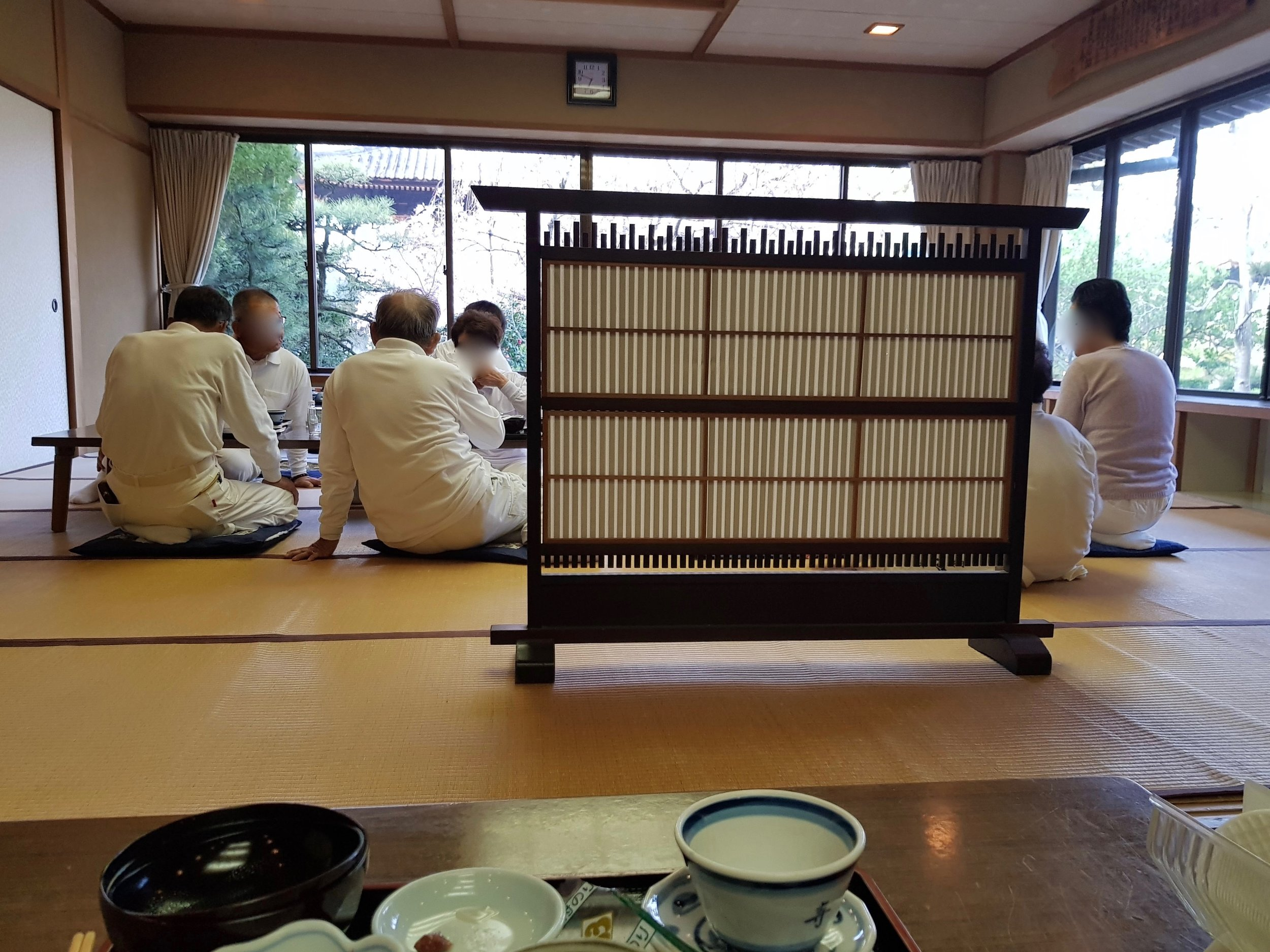 Breakfast at tatsue-ji (立江寺), temple 19. i ate with a nice dutch couple who were touring japan for the first time. they loved everything except the 'terrible coffee'!