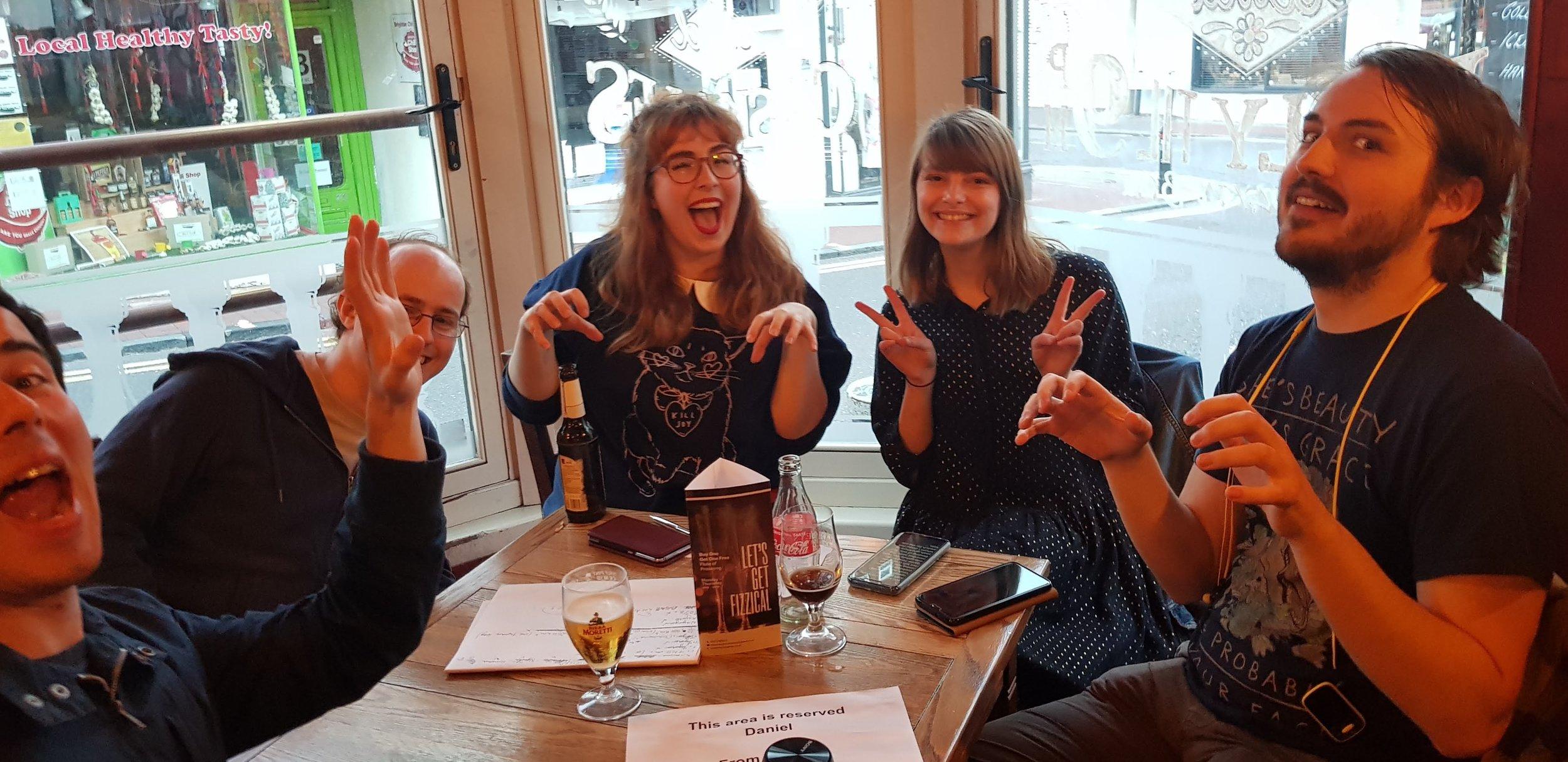 Step Up Japanese Japanese Lessons in Brighton Pub Quiz Fran Wrigley 2019 2.jpg