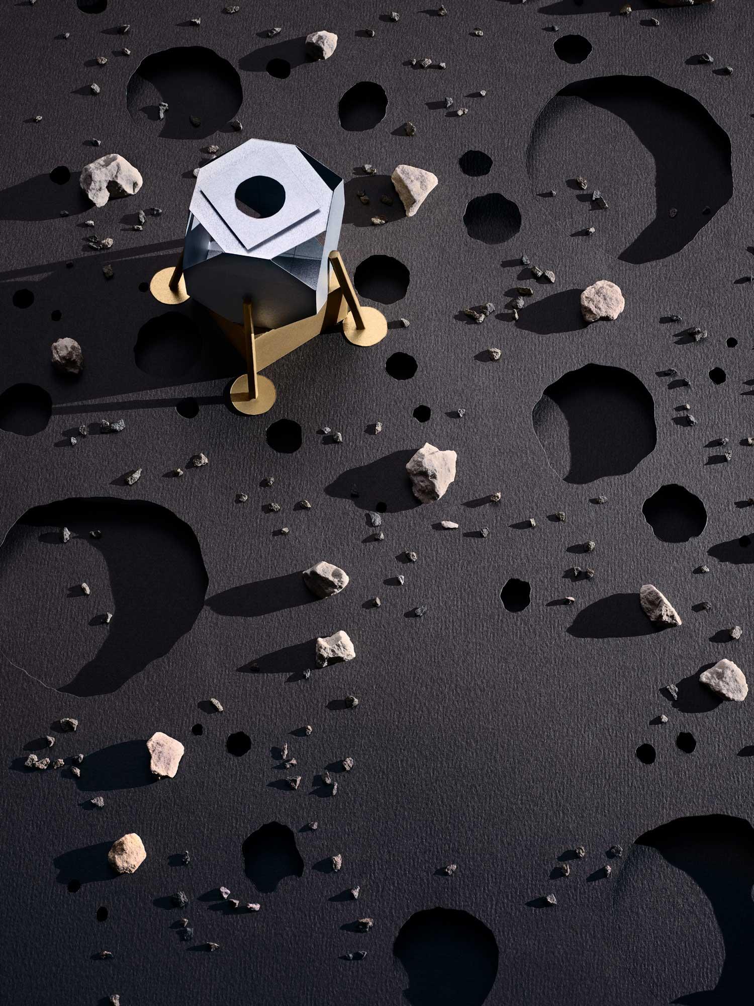 vanity fair celebrates the anniversary of Apollo 11 - magnus torsne / skarp photography