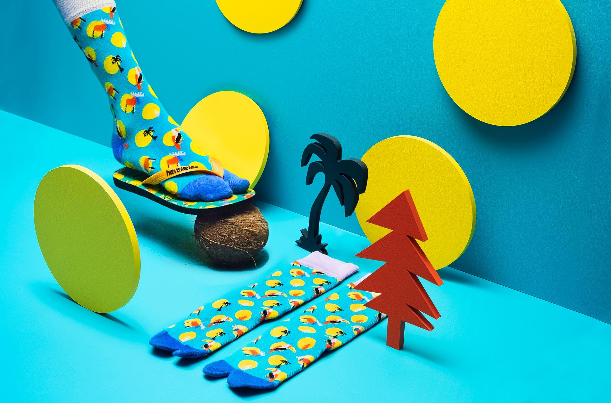 havaianas x happy socks - art direction danyel mejia / photography magnus torsne