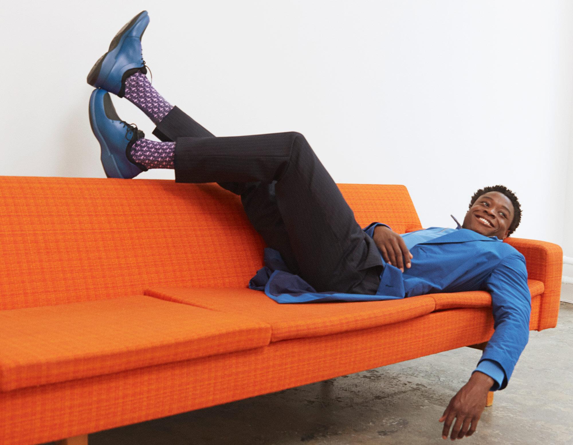 happy socks x men's Wearhouse - Danyel Mejia / skarp creative