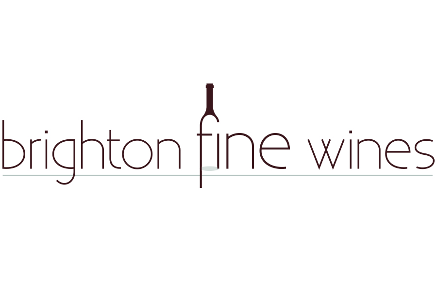 Logo and business cards for Brighton Fine Wines
