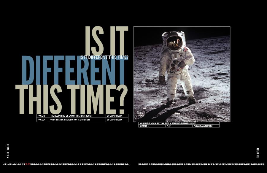 Art direction for Tech Odyssey magazine, Fairfax media