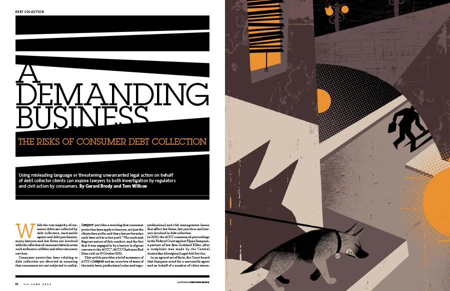 Art direction for LIJ magazine
