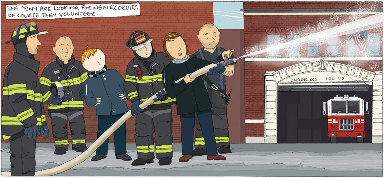 New recruits for the FDNY, New York