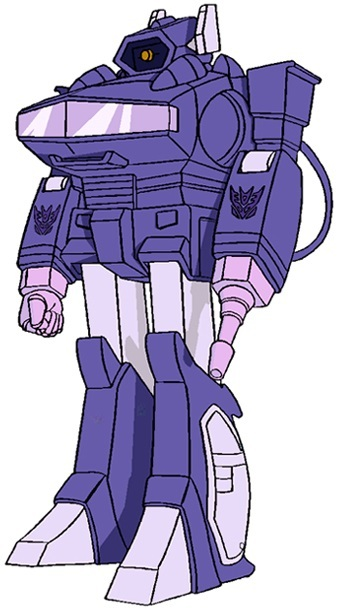 """SHOCKWAVE - The last """"villain"""" on display today is the wonderfully named SHOCKWAVE. Unlike the others, Shockwave held a very senior rank in the Decepticons and was held in high regard by many: feared and revered in equal proportions. Described as """"deadly efficient with a cold devotion to logic."""""""