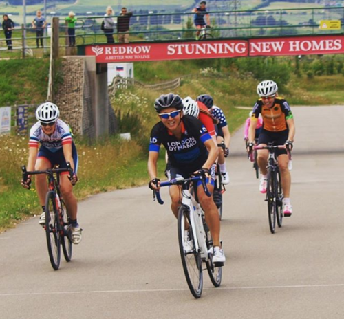 A race win at Cyclopark for Lillian Gray