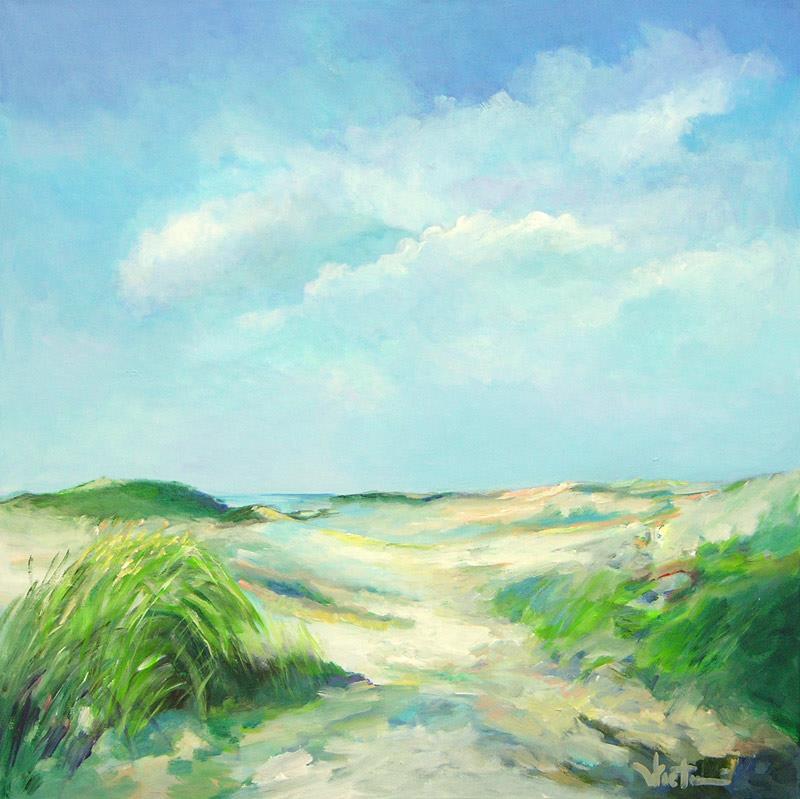 Kees Vlietman - Noordzee 091 (100 x 100 cm)
