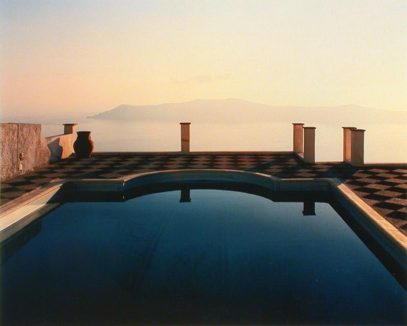 Bert Houweling - Santorini (80 x 90 cm)