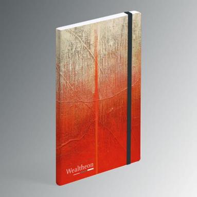Een onderneming in Brussel feliciteert zijn jarige klanten met een origineel kunstzinnig geschenk. In overleg zorgde Business Art Service voor de handige gepersonaliseerde notitieboekjes met bijpassende verjaardagskaart.