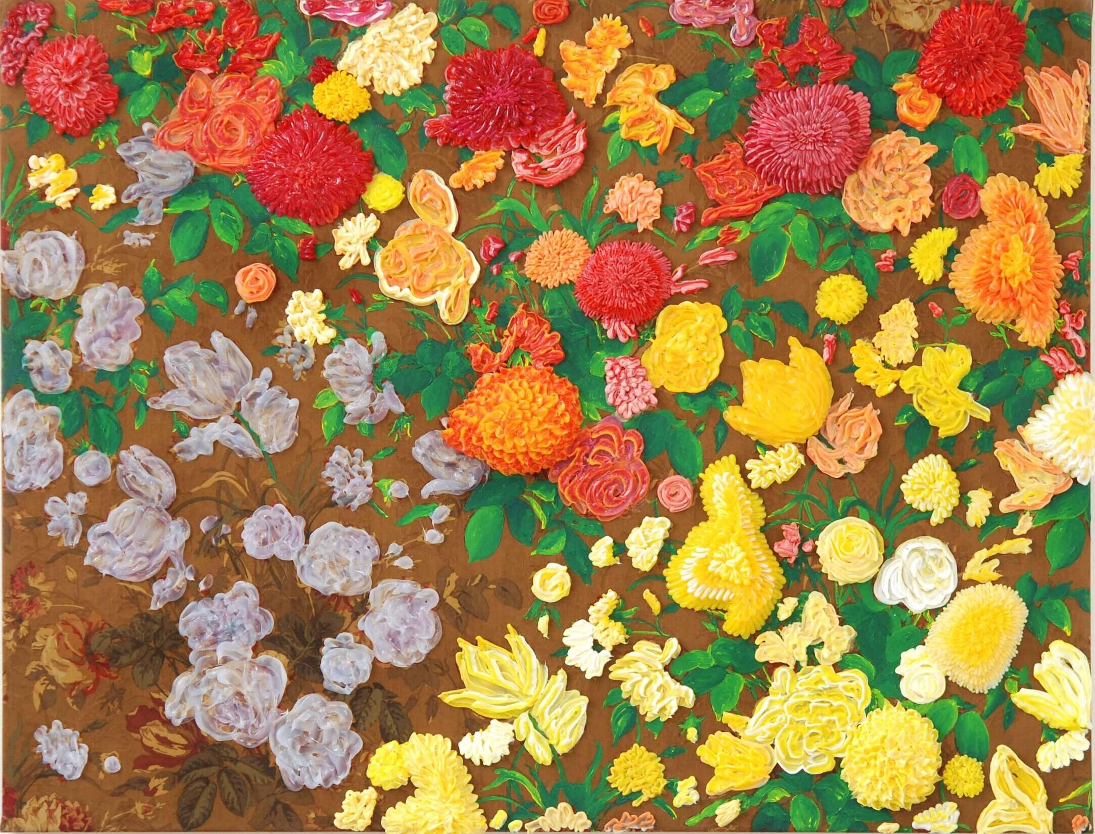 Arjan van Arendonk,  Flowers on the move