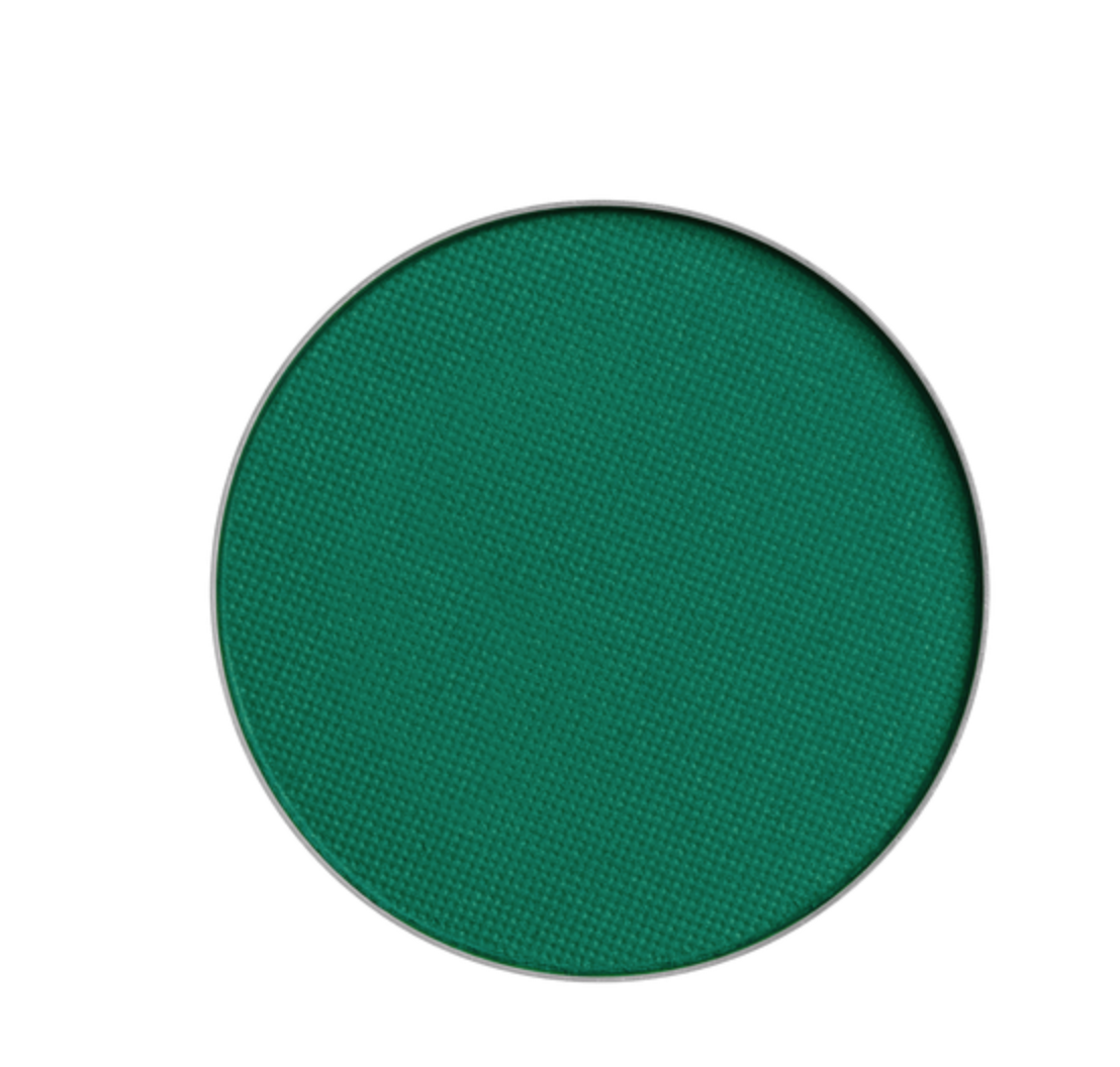 NYX - Green matte eyeshadow has sparked my interest lately. And I don't know if it's because I'm feeling super festive, or just want to spice up my look with my favorite color. This single shadow is only $4.00, and NYX has an array of colors to choose from.