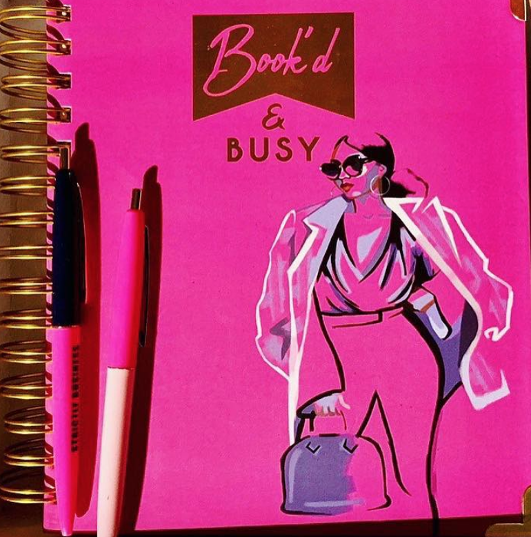 The Book'd planner - 2019 is approaching and I'm in need of a new planner. *Check out my post on getting organized & motivated for 2019 in the Nybloom talk time section
