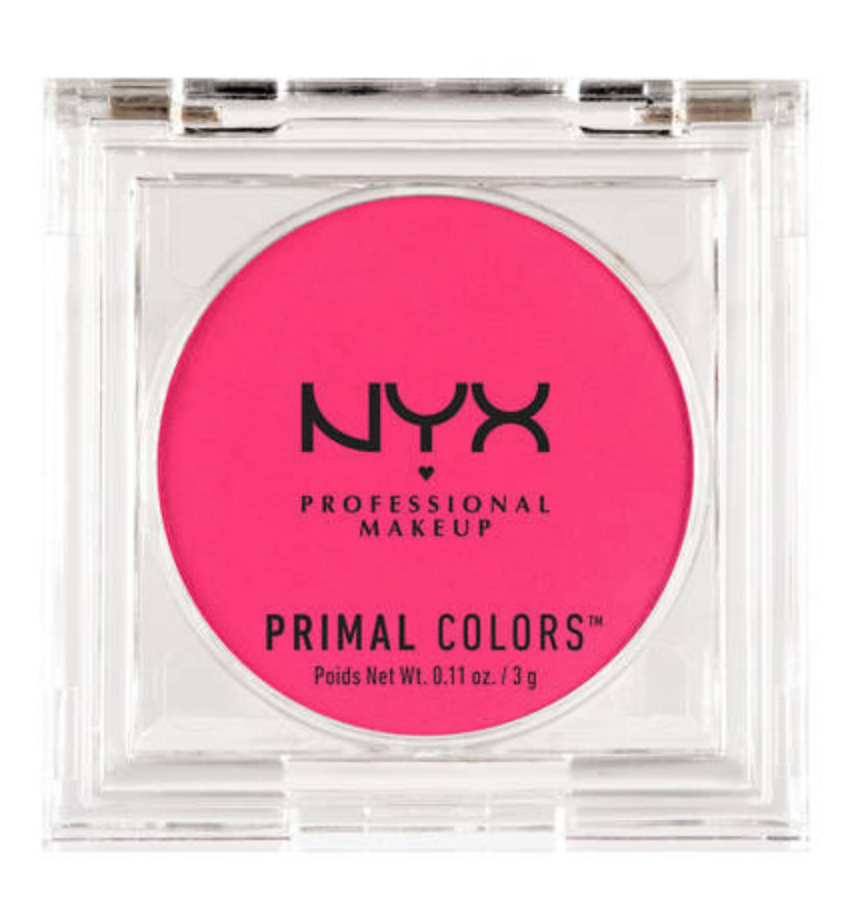 - 4. NYX Primal Colors in Hot PinkI've been adding a pop of color on my lid lately to spice up my look. Especially when the winter calls for gloomy weather, this neon pink will definitely brighten my day.