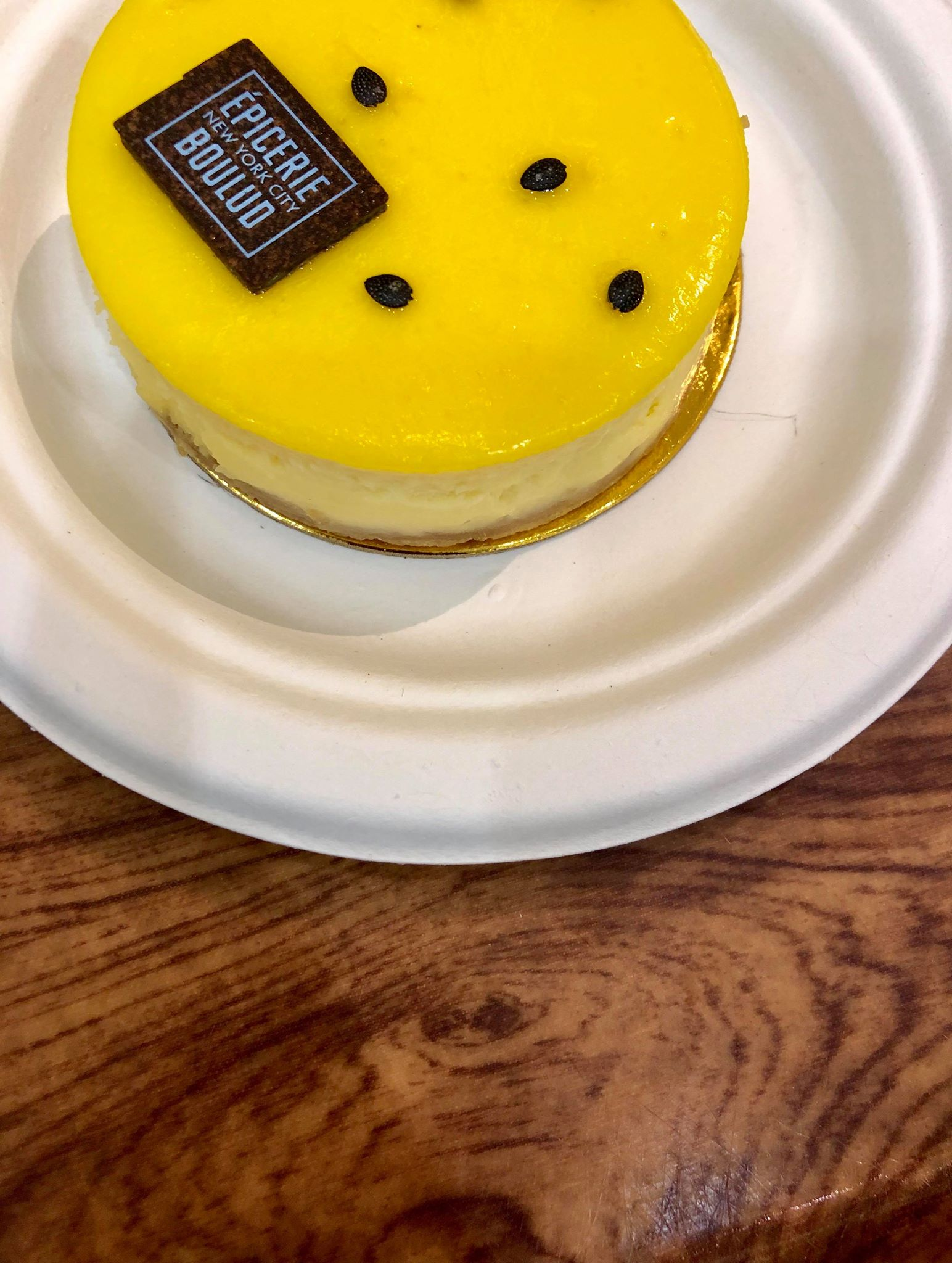 Epicerie Boulud - Shopping around Westfield at the World trade shopping center, stop in Epicerie Boulud and try the passion fruit cheesecake. The cheesecake was lovely and were there are lots of delicious dessert options to choose from.My order:- Passion fruit cheesecake