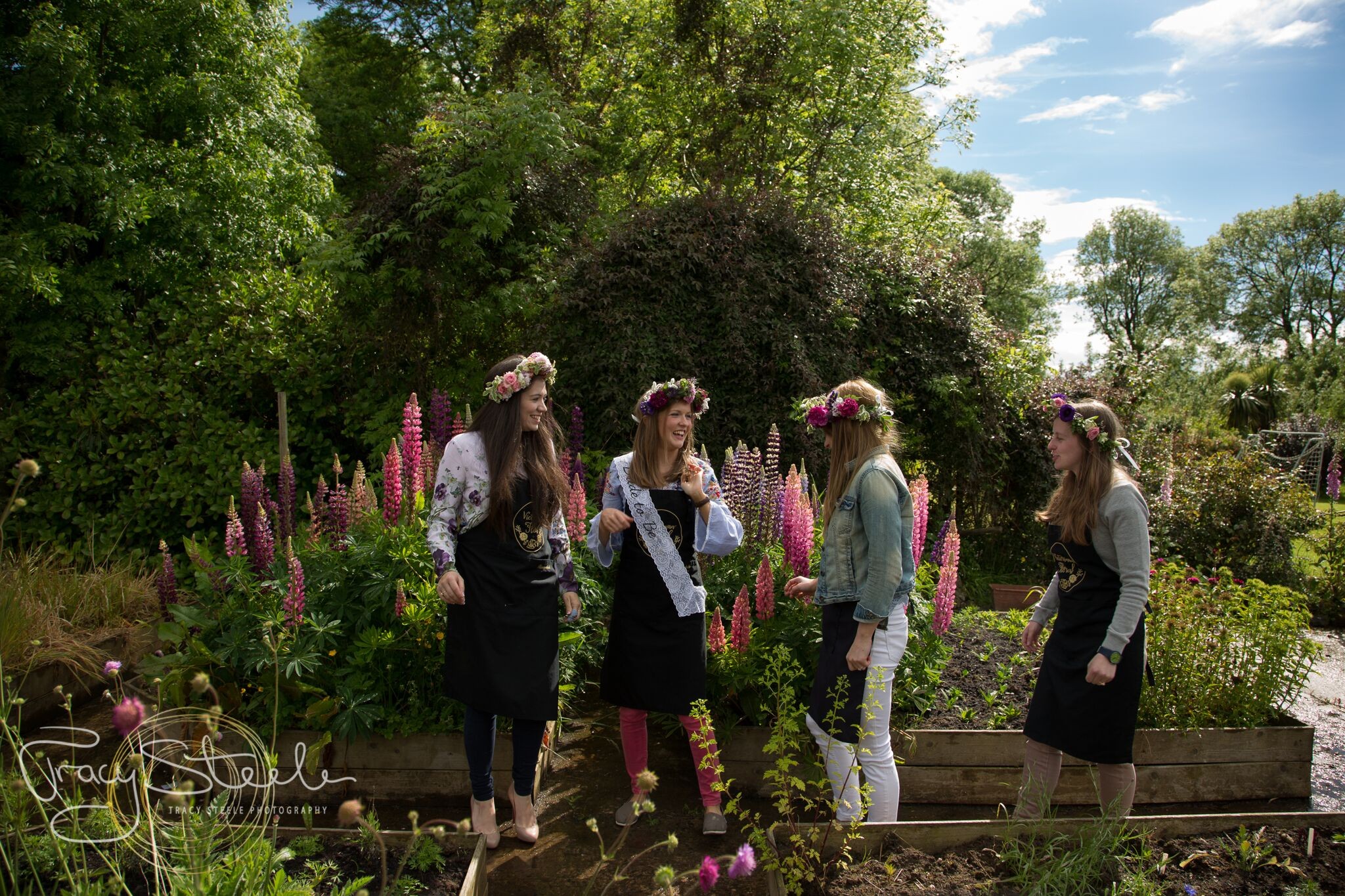 Flower Crown Workshops - We also offer Flower Crown workshops which are proving very popular for hen parties and team building outings.