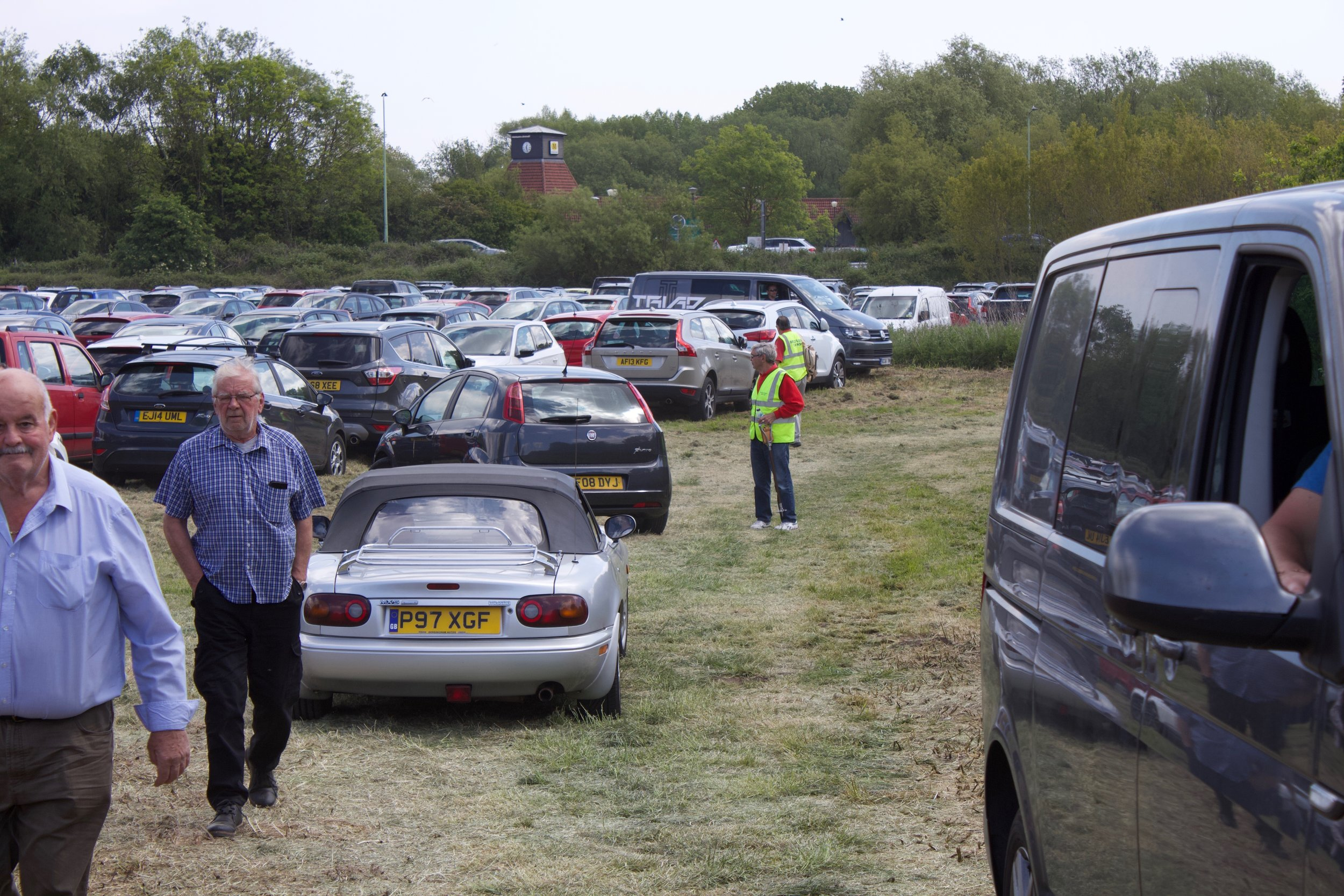 CAR PARKING: Members often take on the responsibility of controlling the Car Parks at local events and Festivals with the agreed fees all going to Charity.