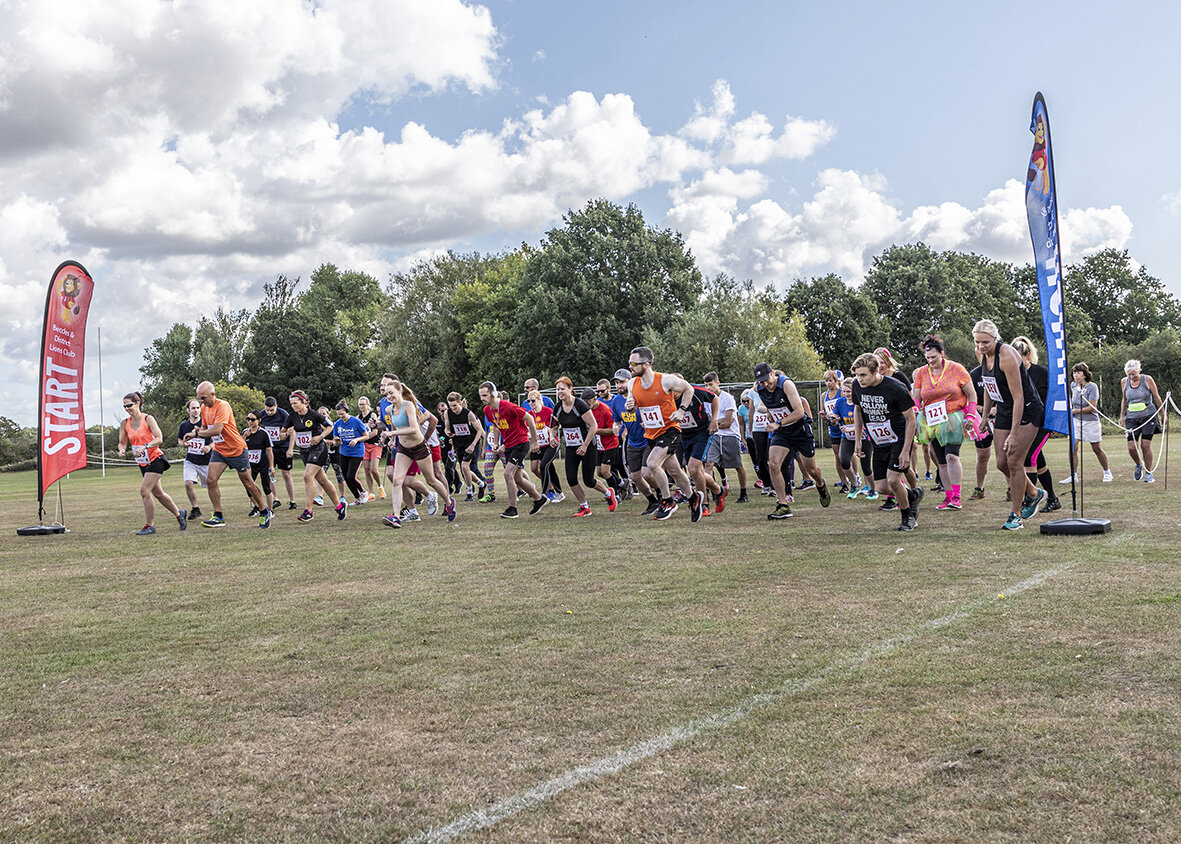The start of the 2019 Beccles & District Lions Club 3k/5k Runs