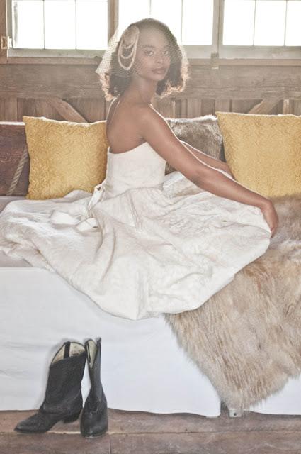 Brie Camille in The Cotton Bride.  Shot by Destination Wedding Photographer   Angela Cappetta