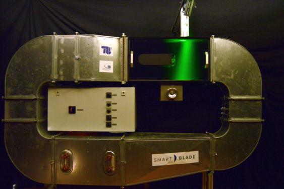 PIV experiment conducted by TU Berlin.